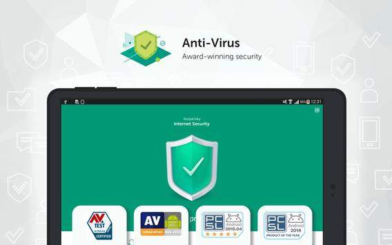 Kaspersky Mobile Antivirus: AppLock & Web Security apk स्क्रीनशॉट