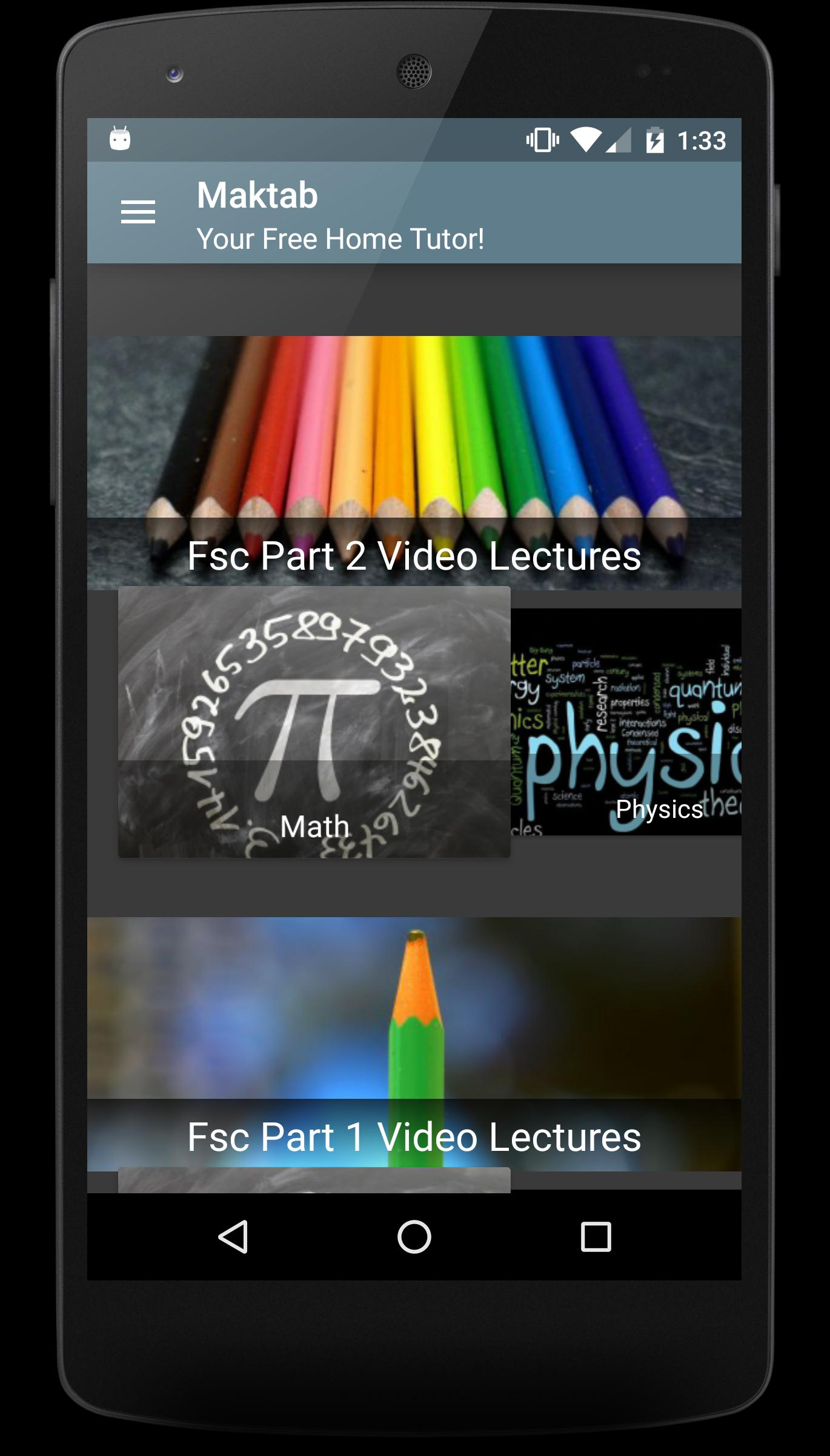 Maktab (Video Lectures) for Android - APK Download