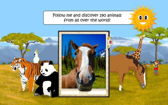 Wildlife & Farm Animals - Game For Kids 2-8 years apk screenshot