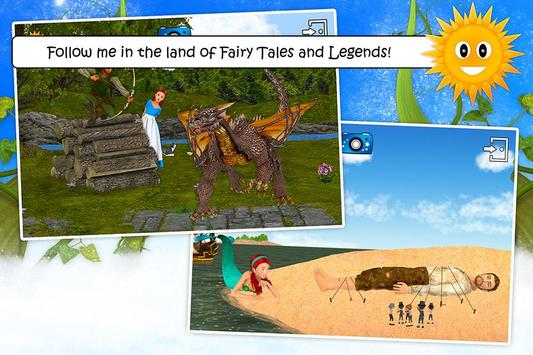 Fairy Tales & Legends for kids poster