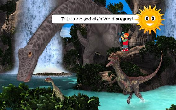 Dinosaurs and Ice Age Animals - Free Game For Kids poster