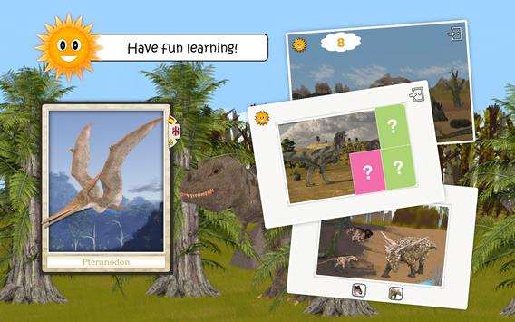 Dinosaurs and Ice Age Animals - Free Game For Kids apk screenshot