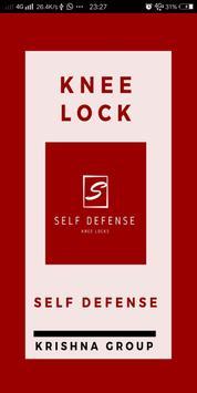 martial art knee locks poster