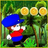 Jungle Run Subway Mario icon