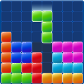 Block puzzle monster icon