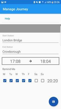 UK Train Alarm - Live screenshot 1