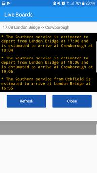 UK Train Alarm - Live screenshot 2