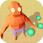 Knife Hero: Low Poly icon