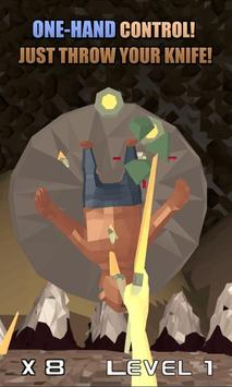 Knife Hero: Low Poly poster
