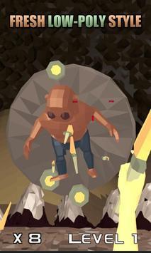 Knife Hero: Low Poly apk screenshot