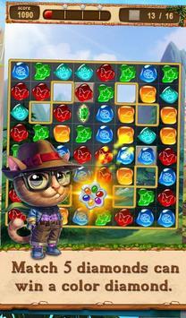 Cat Diamond Adventure apk screenshot