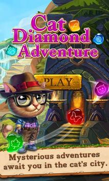 Cat Diamond Adventure poster