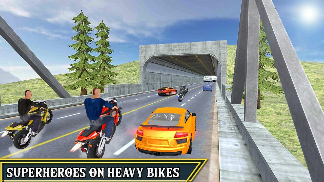 Highway Moto Bike Racing Free for Android - APK Download