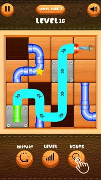 Pipe Connecting Plumber Puzzle poster