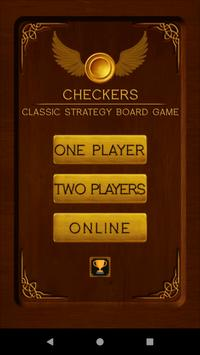 Checkers poster