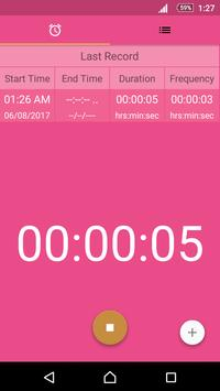 Contraction Timer for Labor screenshot 1
