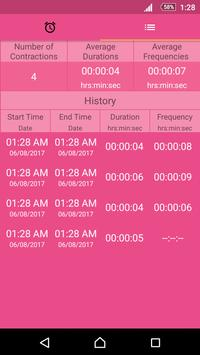 Contraction Timer for Labor screenshot 2