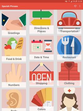 Learn Spanish Phrases - Spanish Phrasebook screenshot 5