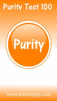 Purity Test 100 poster