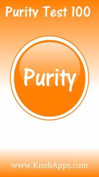 Purity Test 100 apk screenshot