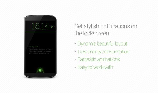 Knock²+ V2 // Notifications poster