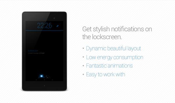 Knock²+ V2 // Notifications apk screenshot