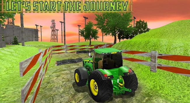 Tractor Valley Simulator 3D poster