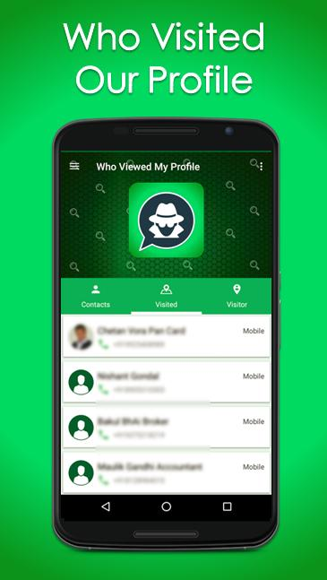 Who Viewed My Profile Whats Tracker For Whatsapp For