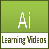 Illustrator videos Learn Illustrator step by step icon