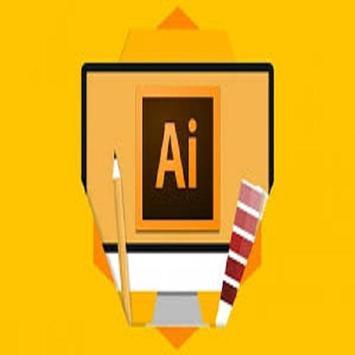 Illustrator videos Learn Illustrator step by step poster