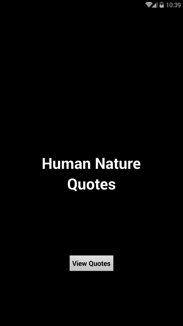 Human Nature Quotes For Android Apk Download