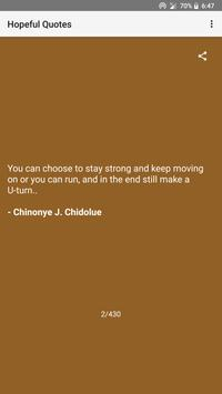 Hopeful Quotes screenshot 3