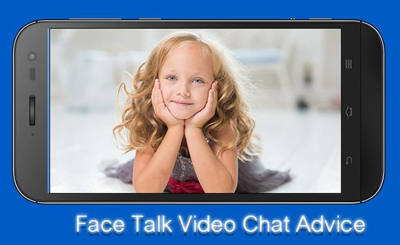 Face Talk Video Chat Advice poster