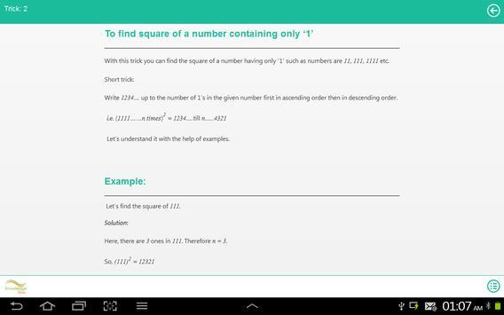 Short Tricks of Math screenshot 4