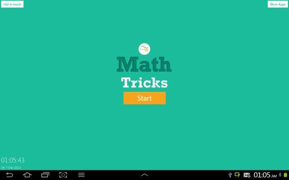 Short Tricks of Math poster