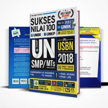 Soal UN SMP 2018 UNBK & UNKP + USBN (Rahasia) poster