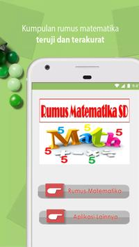 Rumus Matematika SD Pintar Cerdas 2018 screenshot 1