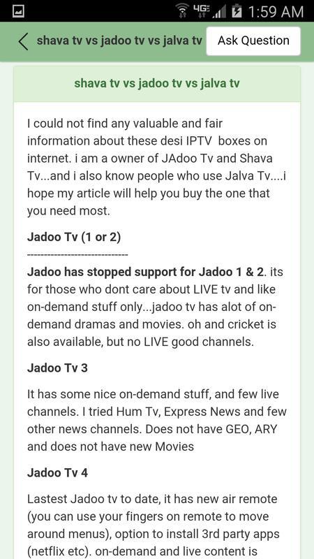 how to install jadoo 4
