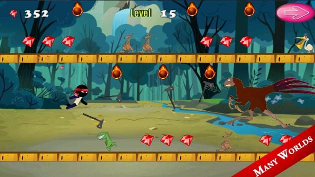 Ninja Jungle Castle Run apk screenshot