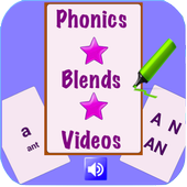 Phonics and Blending for Kids icon