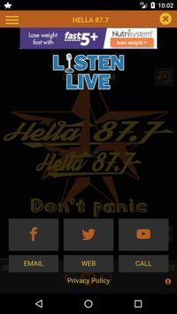 Hella 87.7 screenshot 2