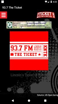 93.7 The Ticket poster