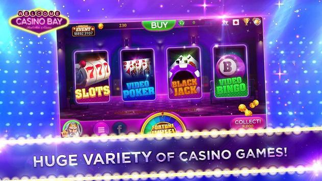 Casino Bay SEA - Free Slots, Poker, Bingo screenshot 1