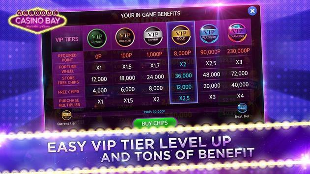 Casino Bay SEA - Free Slots, Poker, Bingo screenshot 22