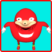 ugandan  knuckles meme soundboard funny icon