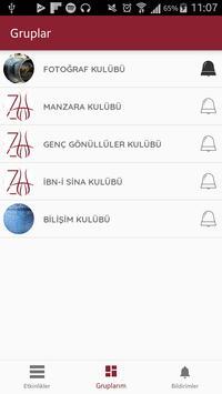 İZÜ Duyuru Etkinlik (Unreleased) apk screenshot
