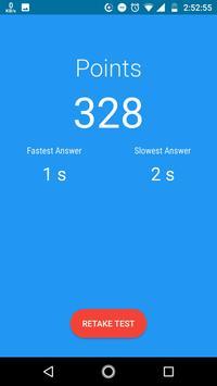 Math Speed Test apk screenshot