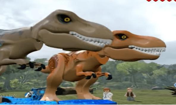 Xujo Lego Jurassic Battle poster