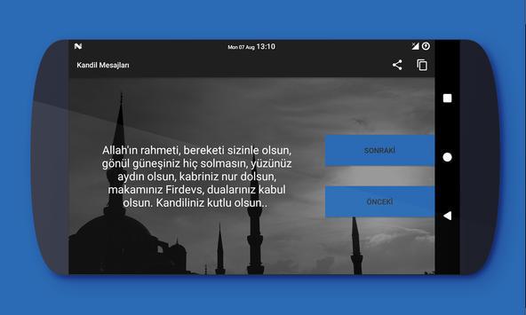 Kandil Mesajları screenshot 2