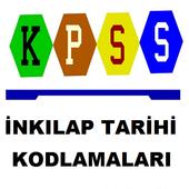 KPSS İnkılap Tarihi Kodlamalar icon
